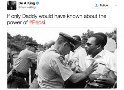 Martin Luther King, JR - Pepsi Marketing