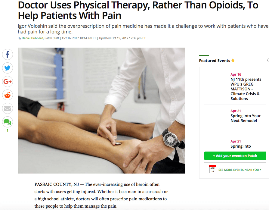 Vigor Physical Therapy Opioid Treatment