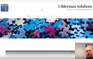 Website Audit - Branding, Copywriting, and Design - The Old Cilderman Solutions Website