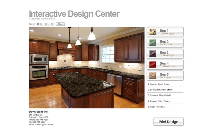 Davis Website Screenshot #2